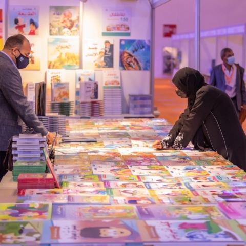 صور: دورة استثنائية احترازية لمعرض الشارقة الدولي للكتاب
