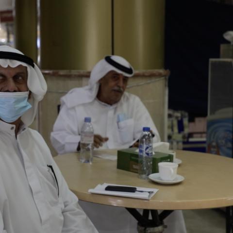 صور: ذكريات دبي مع مجموعة من كبار المواطنين في منطقة نايف