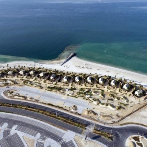 صور: افتتاح مشروع الحديريات الترفيهي في أبوظبي للزوار
