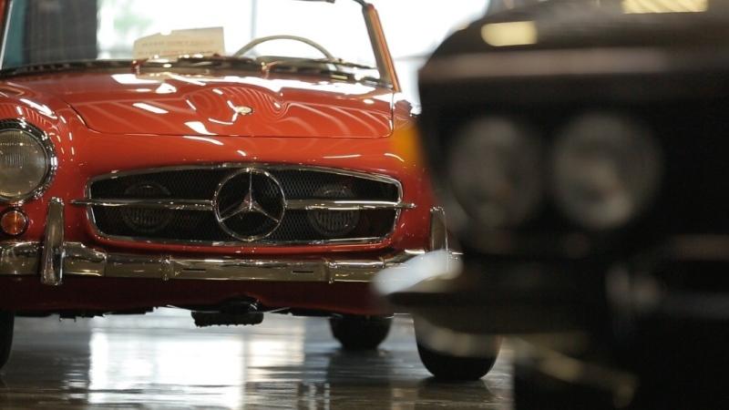 Photo: Mazin Al Khatib: Classic Cars in a Modern World