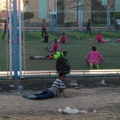 صور: صورة تغير حياة طفل بالكامل في مصر