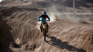 Iranian Biker Blazes Trail for Women