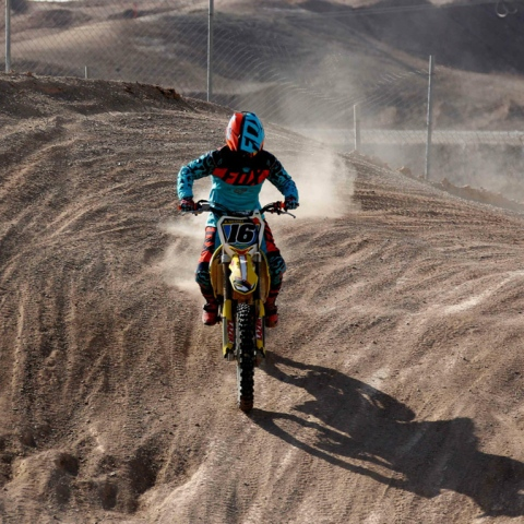 Photo: Iranian Biker Blazes Trail for Women