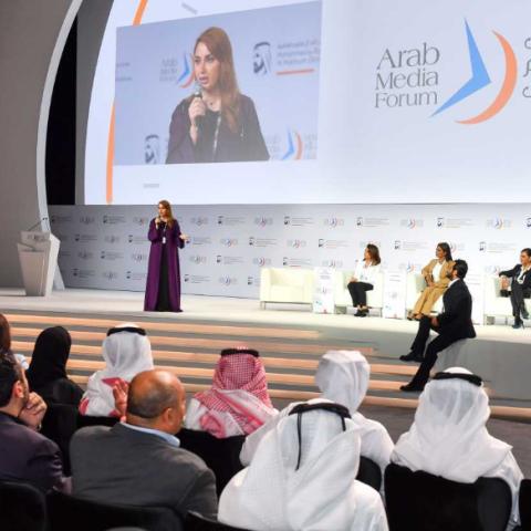 صور: منتدى الإعلام العربي في نسخته الـ 19 ودورة افتراضية استثنائية
