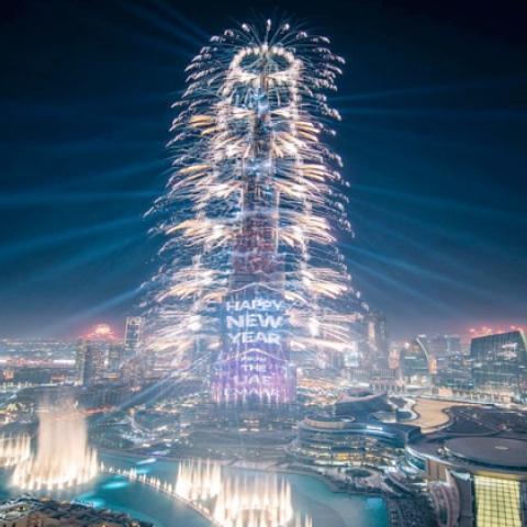 ${rs.image.photo} دبي تبث السعادة افتراضياً حول العالم بليلة رأس السنة