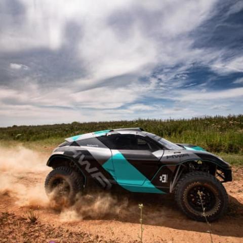 """صور: """"Extreme E"""" رالي بسيارات كهربائية ينطلق من السعودية بمارس المقبل"""