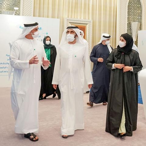صور: الإمارات تطلق السياسة الوطنية لجودة الحياة الرقمية