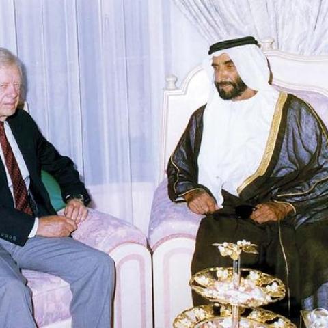 """صور: الإمارات حليفاً في مكافحة """"دودة غينيا"""""""