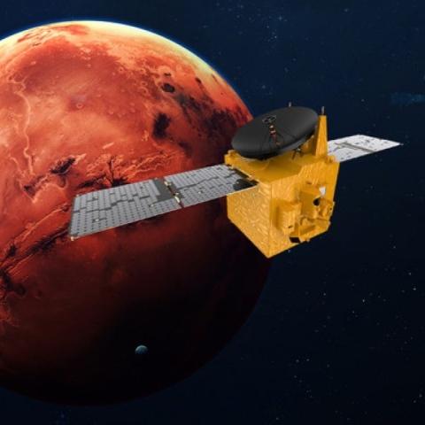صور: سيناريوهات لدخول مسبار الأمل إلى مدار المريخ