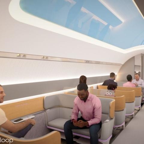"""صور: """"فيرجن هايبرلوب"""" تشارك إطلالة سريعة على مستقبل نقل الركاب"""