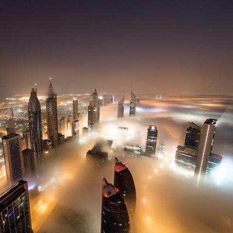 صور: أسباب تكوّن الضباب في الإمارات وأنواعه