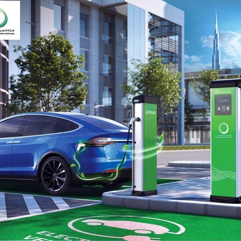 ${rs.image.photo} دبي تحتضن في شوارعها 8,365 مركبة كهربائية و هجينة في عام 2020!
