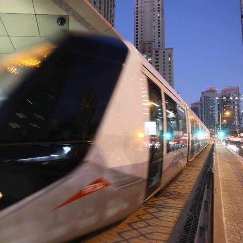 صور: توسيع ترام دبي