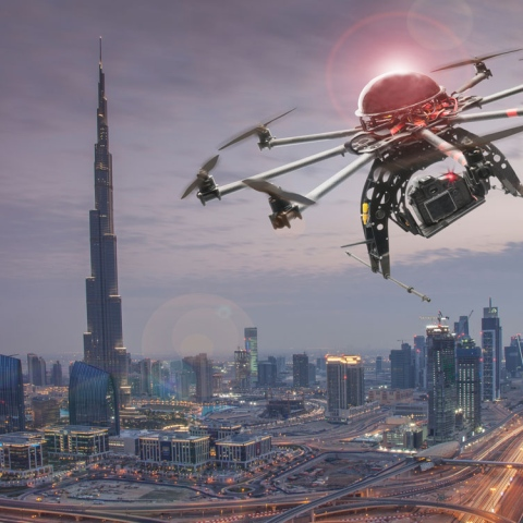 Photo: Dubai Cracks Down on Drones