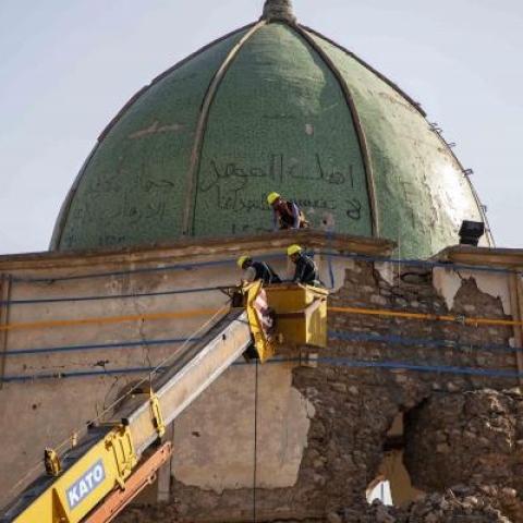 صور: الجامع النوري في الموصل.. الإمارات تصون التراث الإنساني بترميم التاريخ