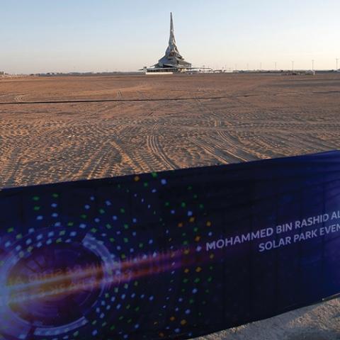 """صور: إطلاق مشروع """"الهيدروجين الأخضر"""" في دبي"""