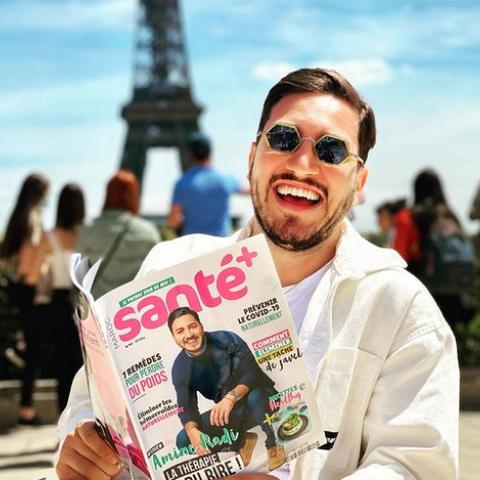 """صور: الكوميدي الفرنسي """"أمين راضي"""" يشارك متابعيه على وسائل التواصل الاجتماعي جولته في دبي"""