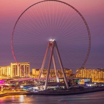 """صور: دبي القابضة تعلن عن افتتاح """"عين دبي"""" بحلول الربع الرابع من 2021"""