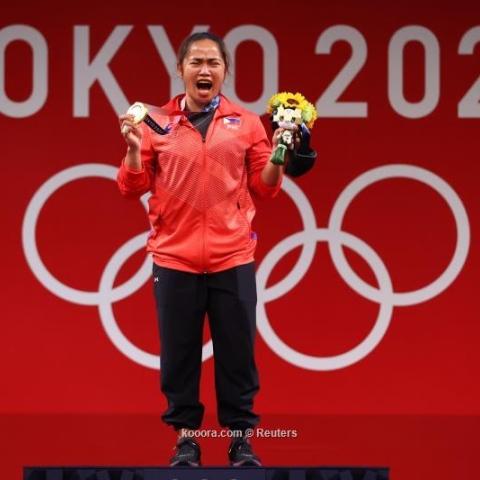 صور: هيدلين دياز.. رافعة أثقال فلبينية تصنع التاريخ في أولمبياد طوكيو 2020