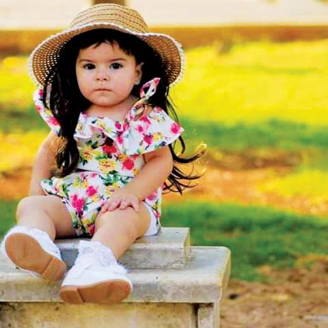 صور: الطفلة السورية جولي ناصر تتعافى في مستشفى الجليلة بمكرمة أم الإمارات