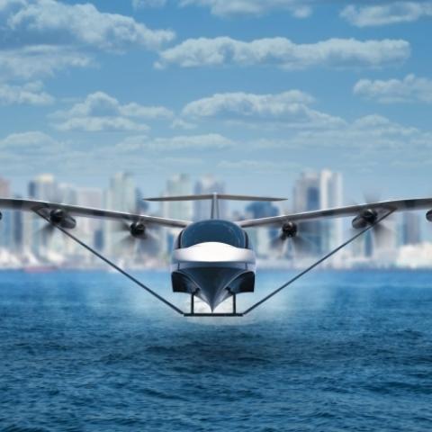 صور: Seaglider.. أول طائرة بحرية كهربائية من نوعها يمكنها قطع المسافة بين دبي وأبوظبي في نصف ساعة!