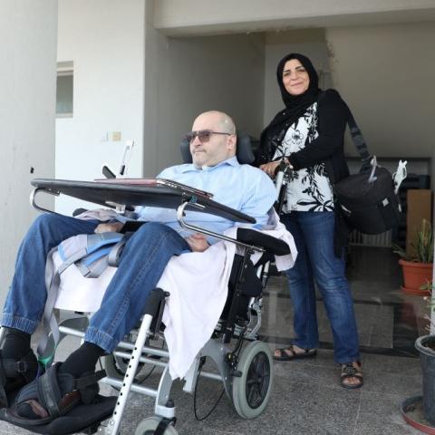 صور: خلدون سنجاب قصة إلهام وعزم وحب، بدأت في سوريا وأينعت في الإمارات