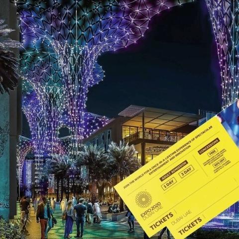 ${rs.image.photo} تذاكر إكسبو 2020 دبي.. باقات متنوّعة وأسعار تناسب الجميع!