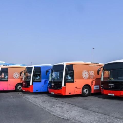 صور: لزوار إكسبو 2020 دبي فقط.. تنقل مجاني بالحافلات من 9 مواقع مختلفة بدبي!