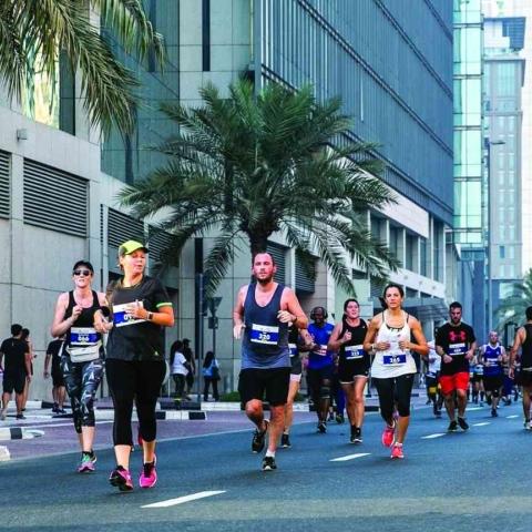 صور: إذا كنت من محبي رياضة الجري، انضم إلى سباق إكسبو 2020 للجري لتحدٍ حول دول العالم!