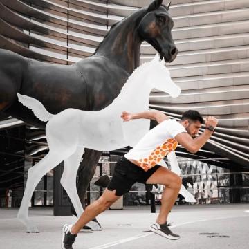 صور: اكتشف دبي بالجري مع سيف، مبادرة رياضية غير اعتيادية للترويج لدبي!