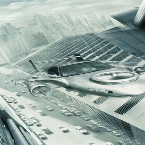 صور: مستقبل النقل : السيارات تطير