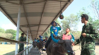 'Buffalo Soldiers' Helping Autistic Children