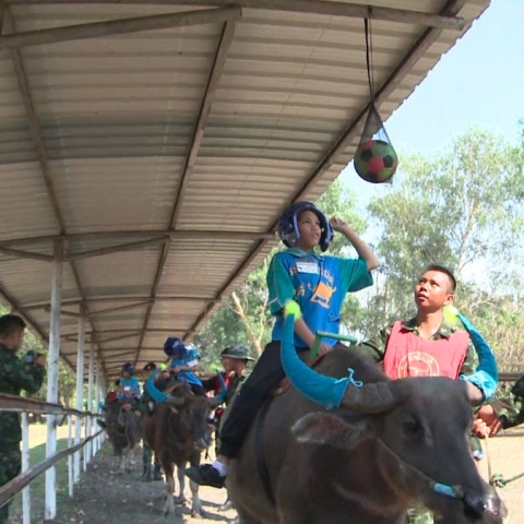Photo: 'Buffalo Soldiers' Helping Autistic Children